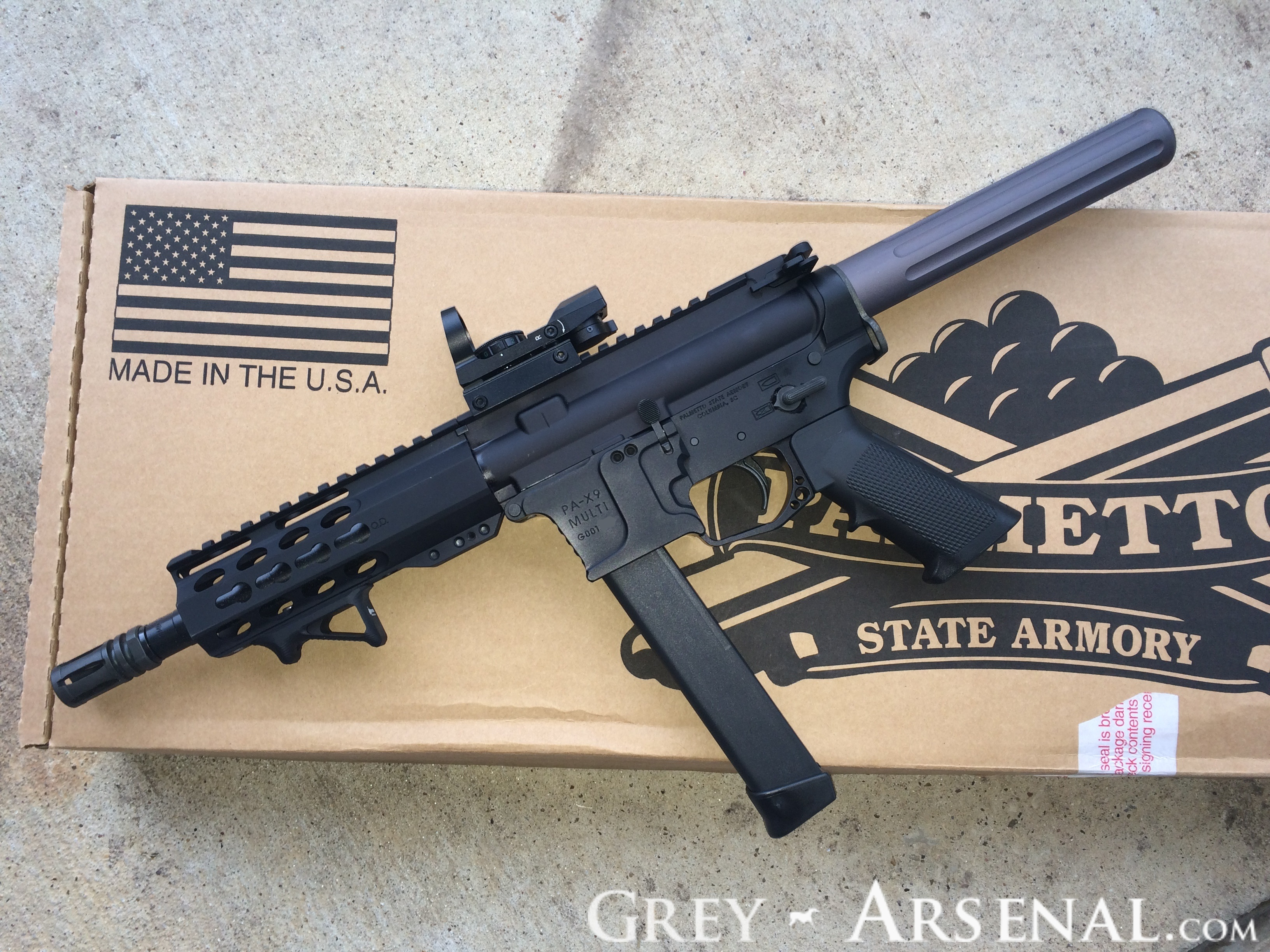 PSA AR-9 Hybrid Review | Grey Arsenal
